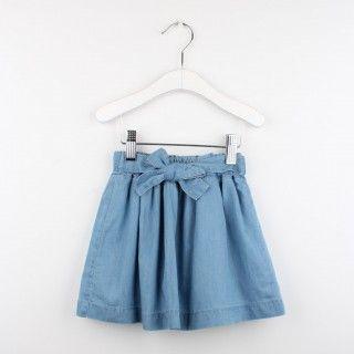 Chambray skirt