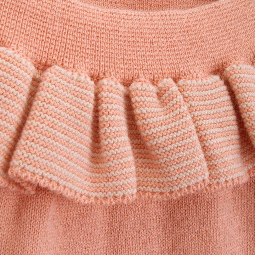 Blommers recém-nascido tricot Sheri