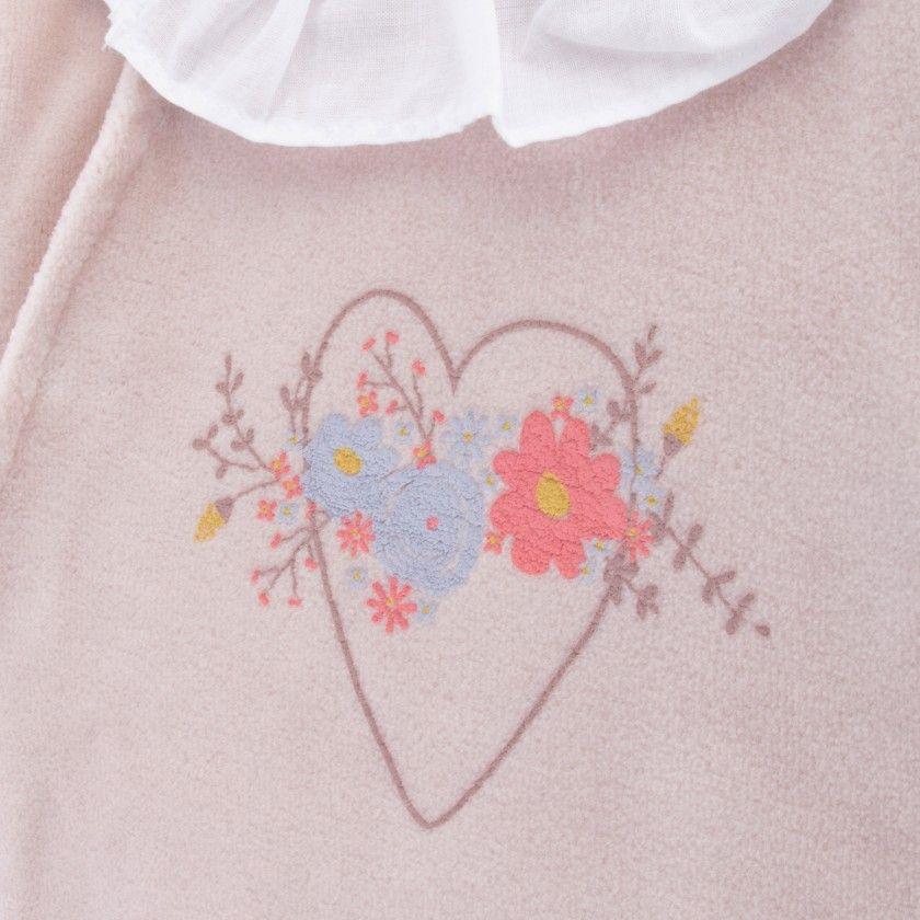 Babygrow Flower Heart