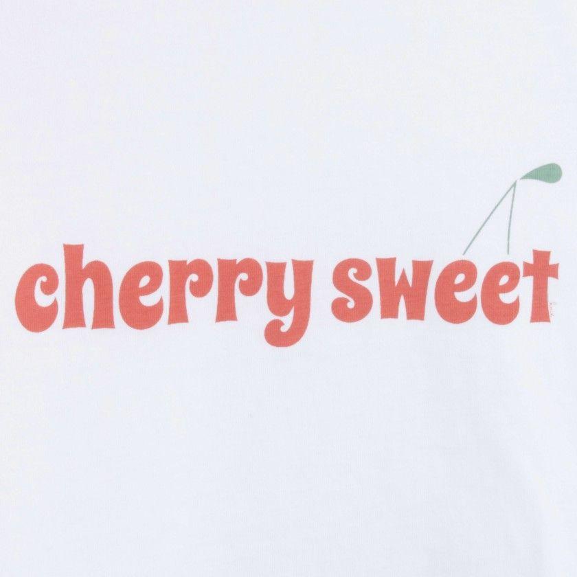 Girl short sleeve t-shirt cotton Cherry sweet