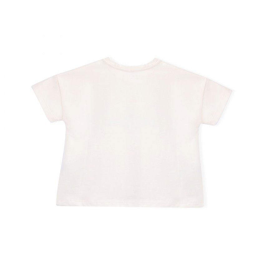 Girl short sleeve t-shirt cotton Dolphin