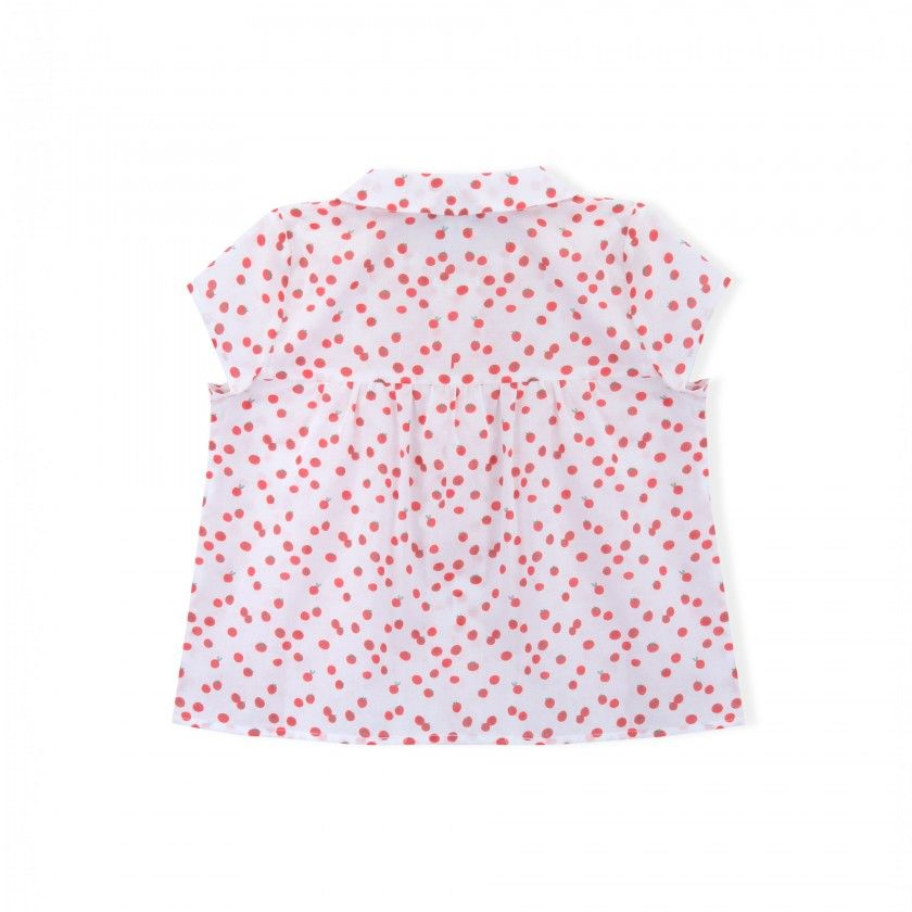 Blusa algodão Cherry