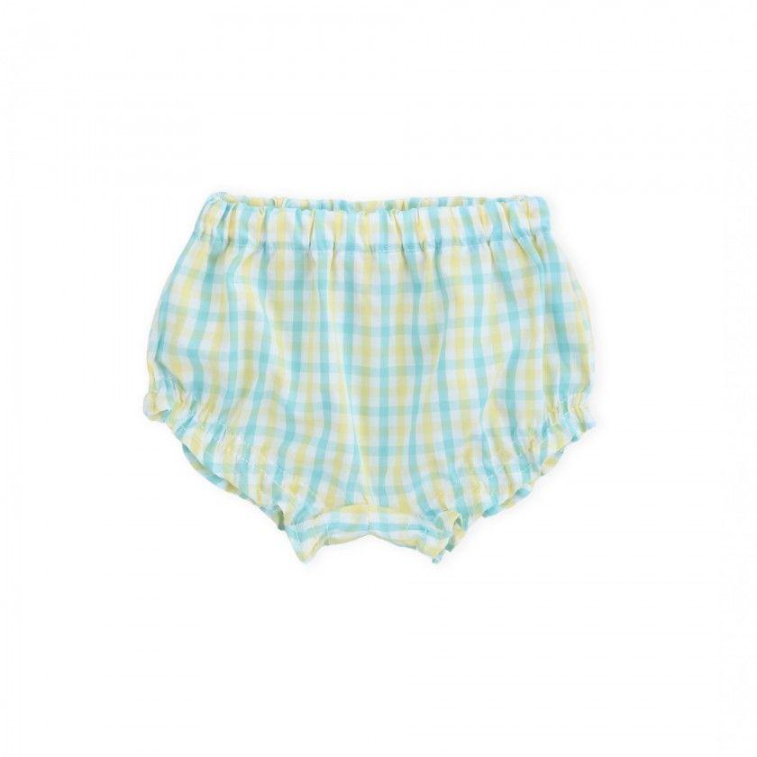 Shorts baby cotton Lemon Pistachio