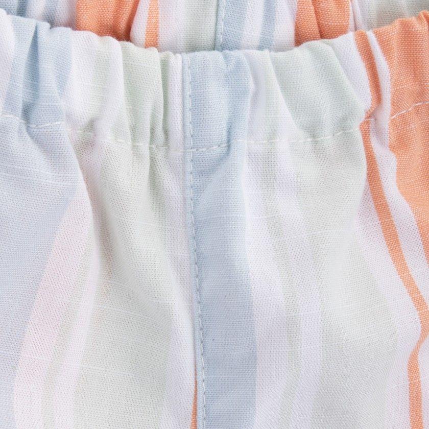 Calções bebé algodão Swim Stripes