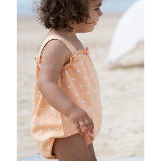 Fofo bebé algodão orgânico Summer Dots