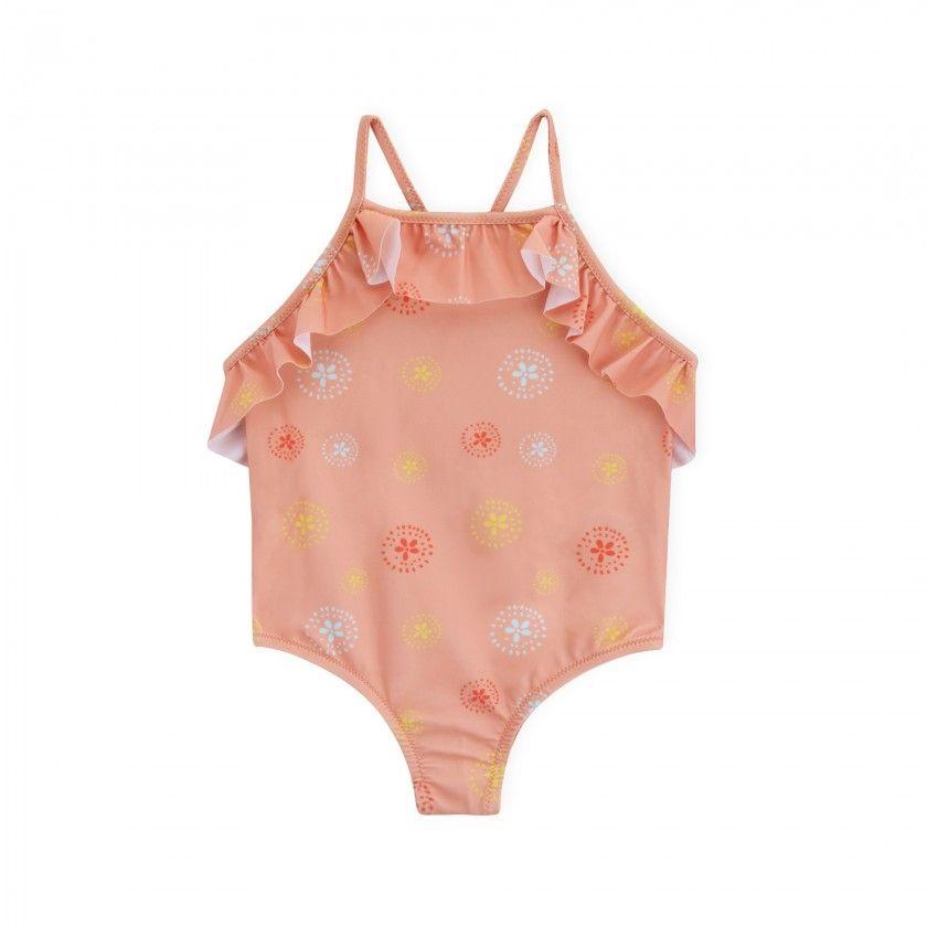 Swimsuit girl Batik Flower