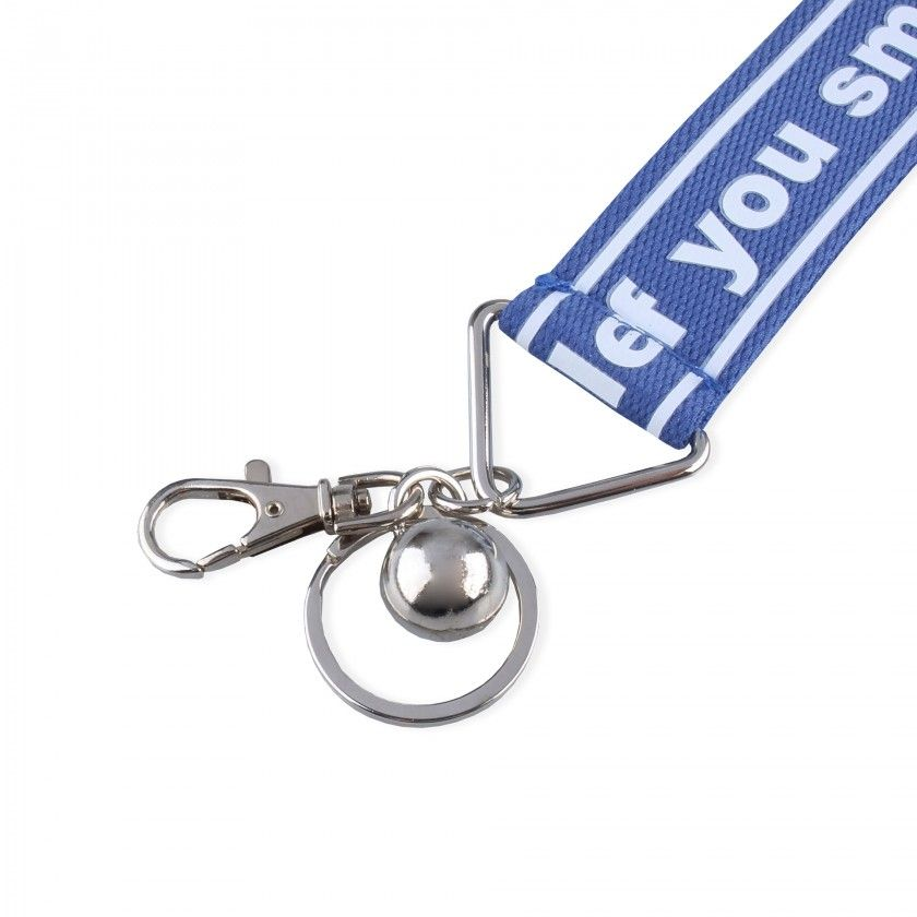 Key ring If you smile, I smile