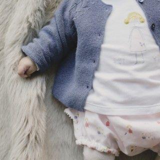 Body t-shirt manga comprida bebé Hygge Girl