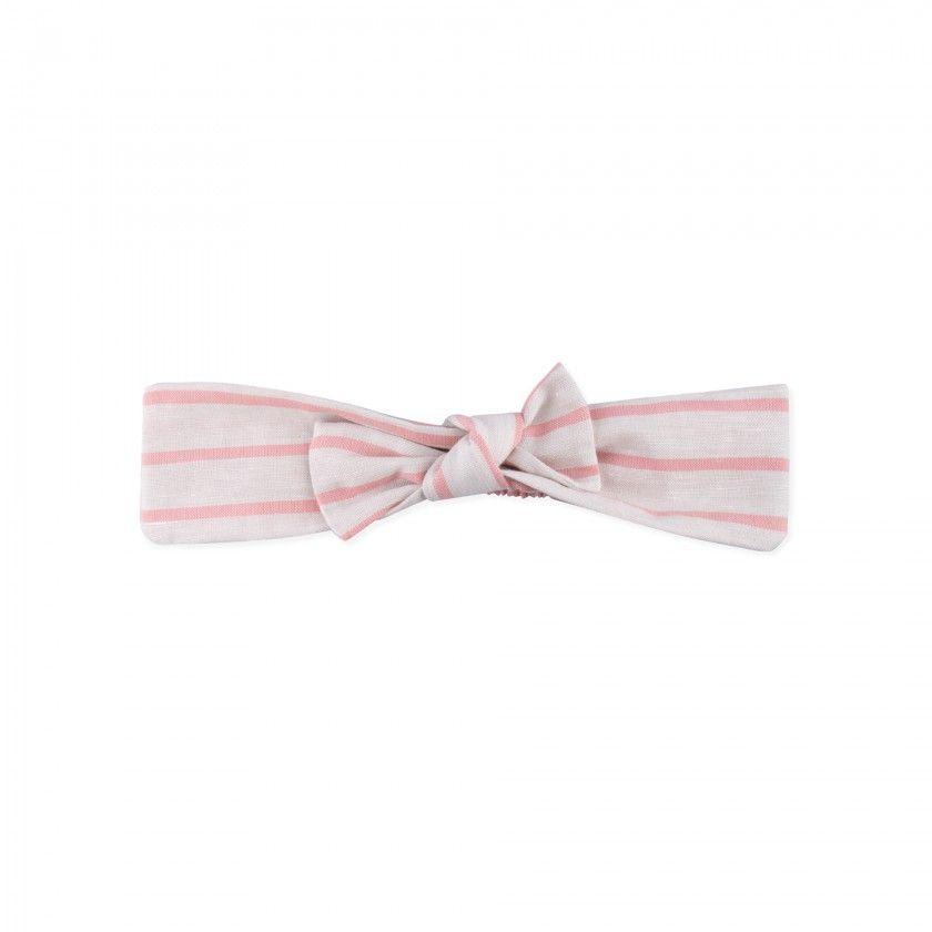 Hair ribbon with bow