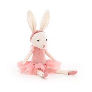 Ballerina bunny plush