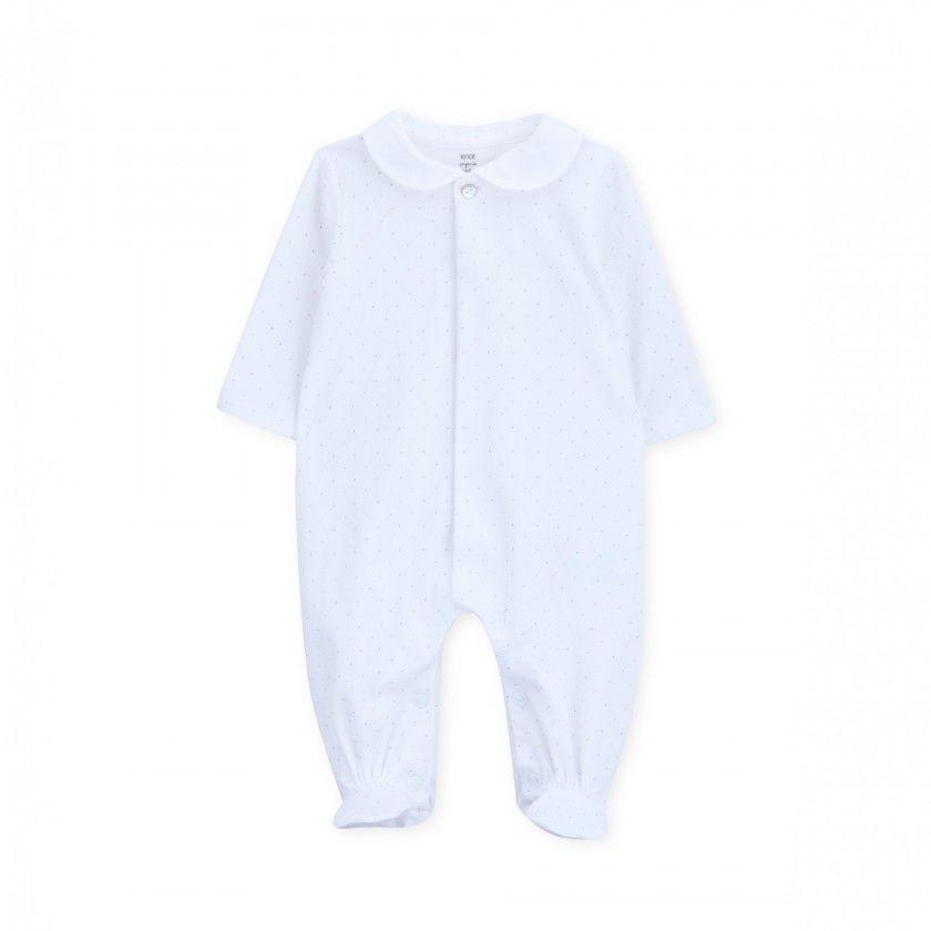 Babygrow recém-nascido algodão orgânico Seurat