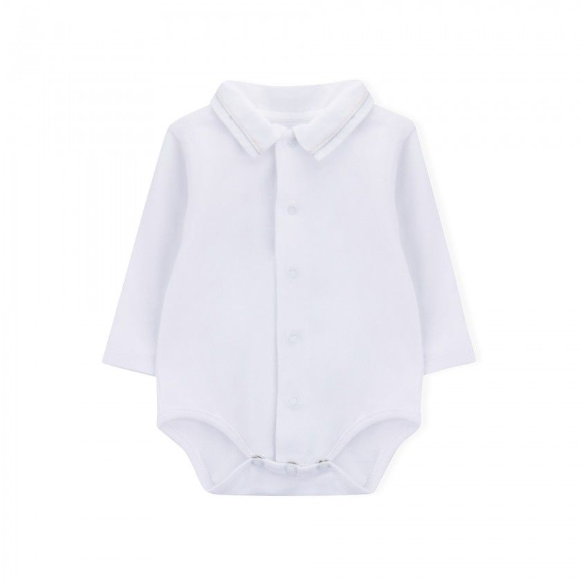 Long sleeve body newborn Two Straight Lines