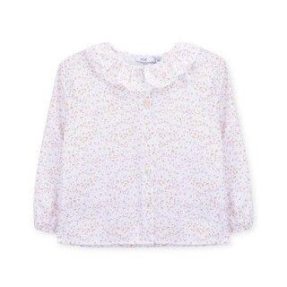 Blusa algodão orgânico Soft Flowers