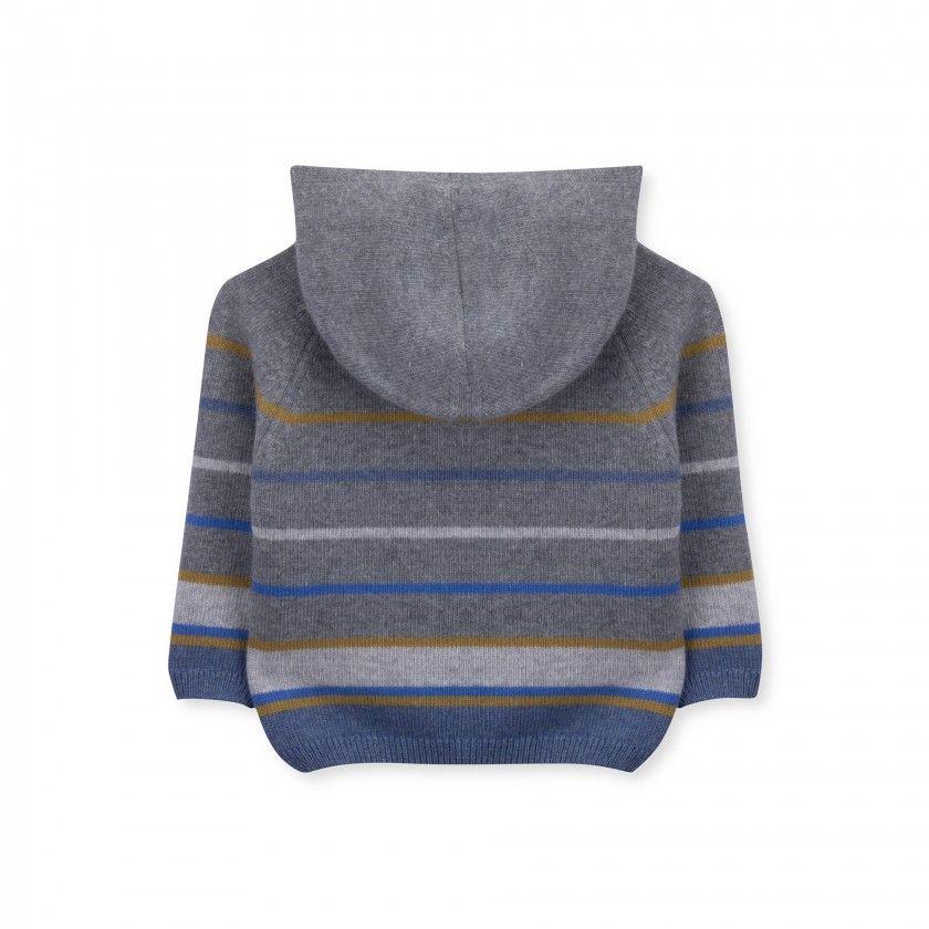 Casaco bebé tricot Horizon
