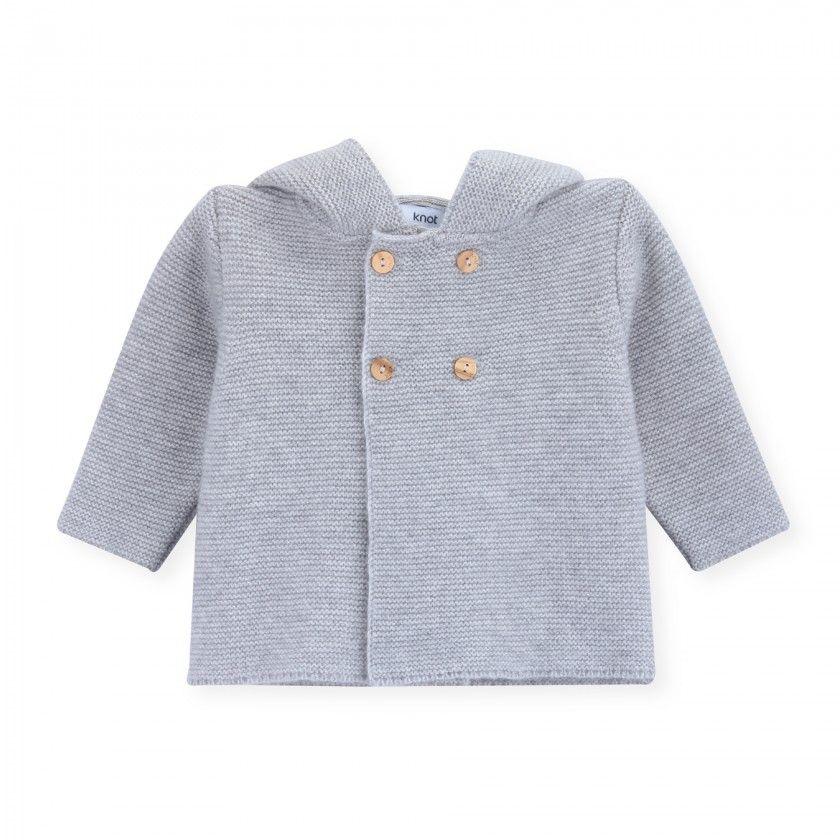 Casaco recém-nascido tricot Dodie