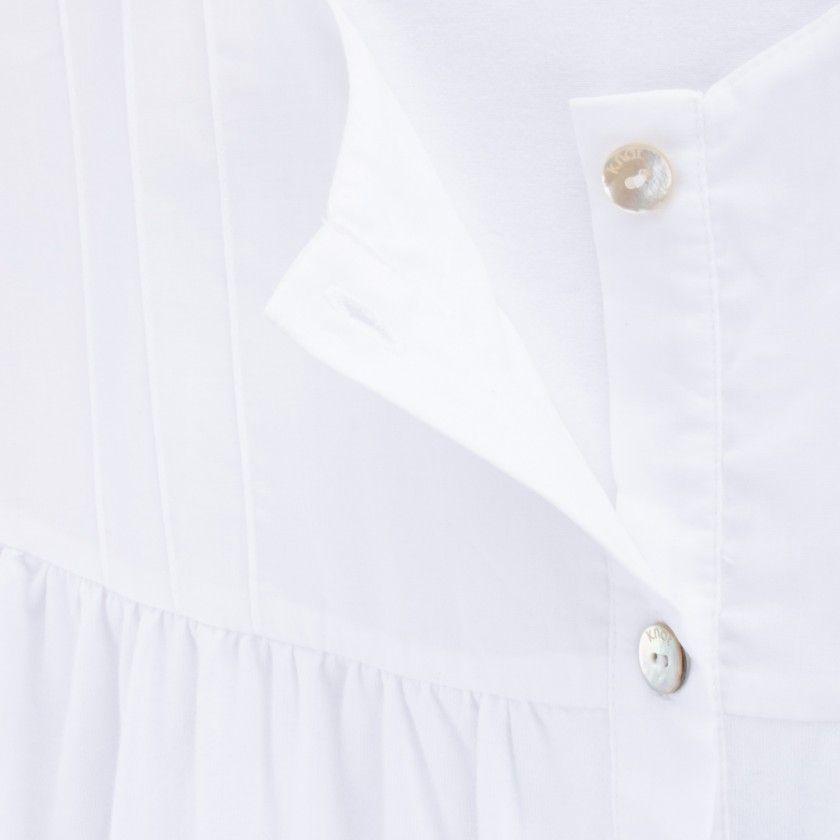 Breastfeeding shirt organic cotton Lizzie