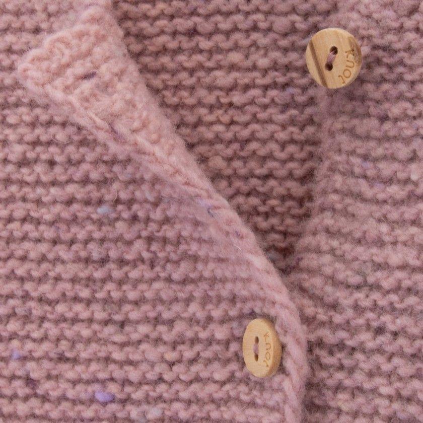 Casaco bebé tricot Lively