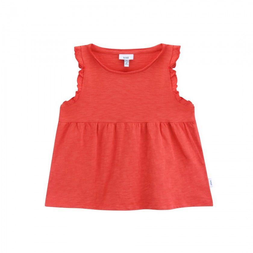 Girl short sleeve t-shirt organic cotton Miriam