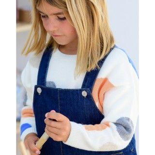Camisola menina lã Shapes