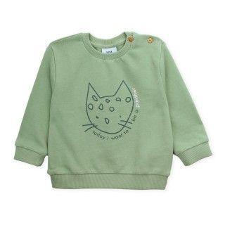 Sweatshirt baby terry Panther