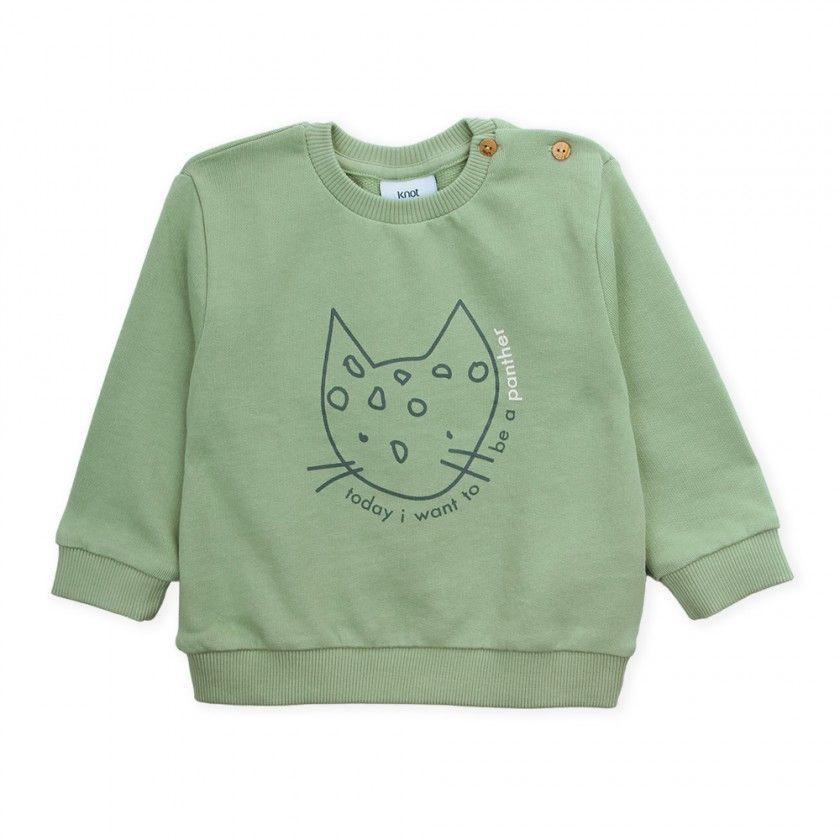 Sweatshirt bebé felpa Panther