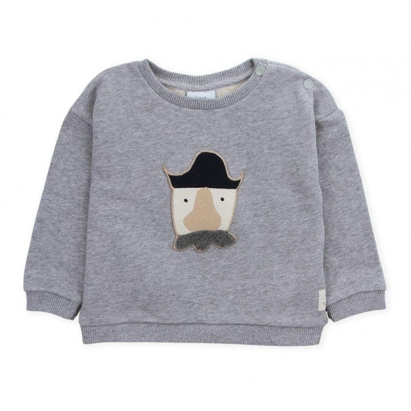 Sweatshirt bebé felpa Pirate