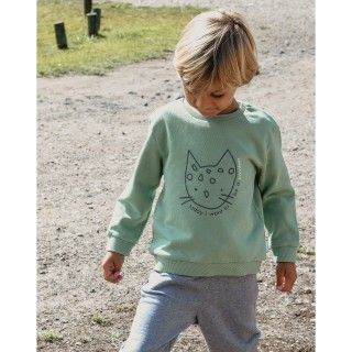 Sweatshirt terry Panther