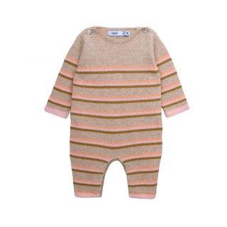 Newborn knitted jumpsuit Jaden