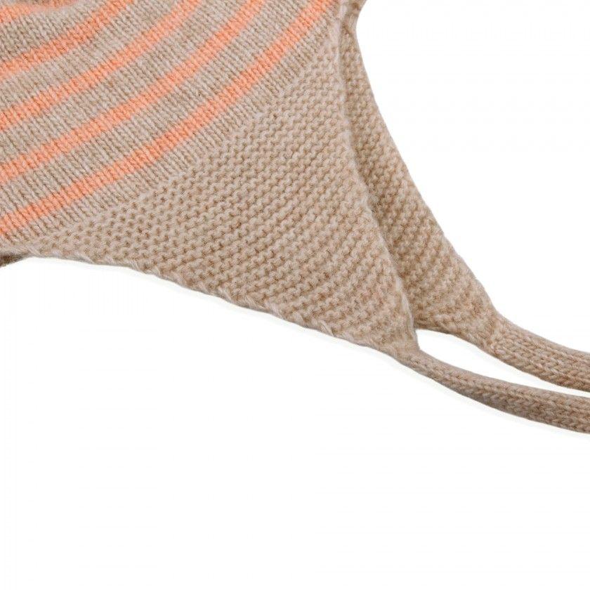 Gorro bebé tricot Sand