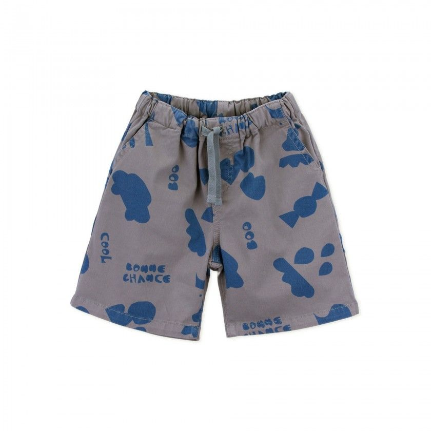 Shorts baby twill Cuts-outs