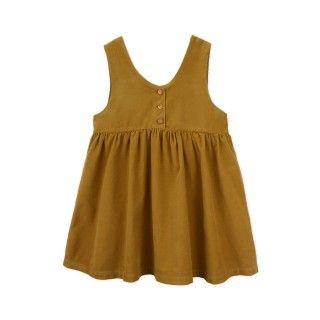 Pinafore dress corduroy Lilia