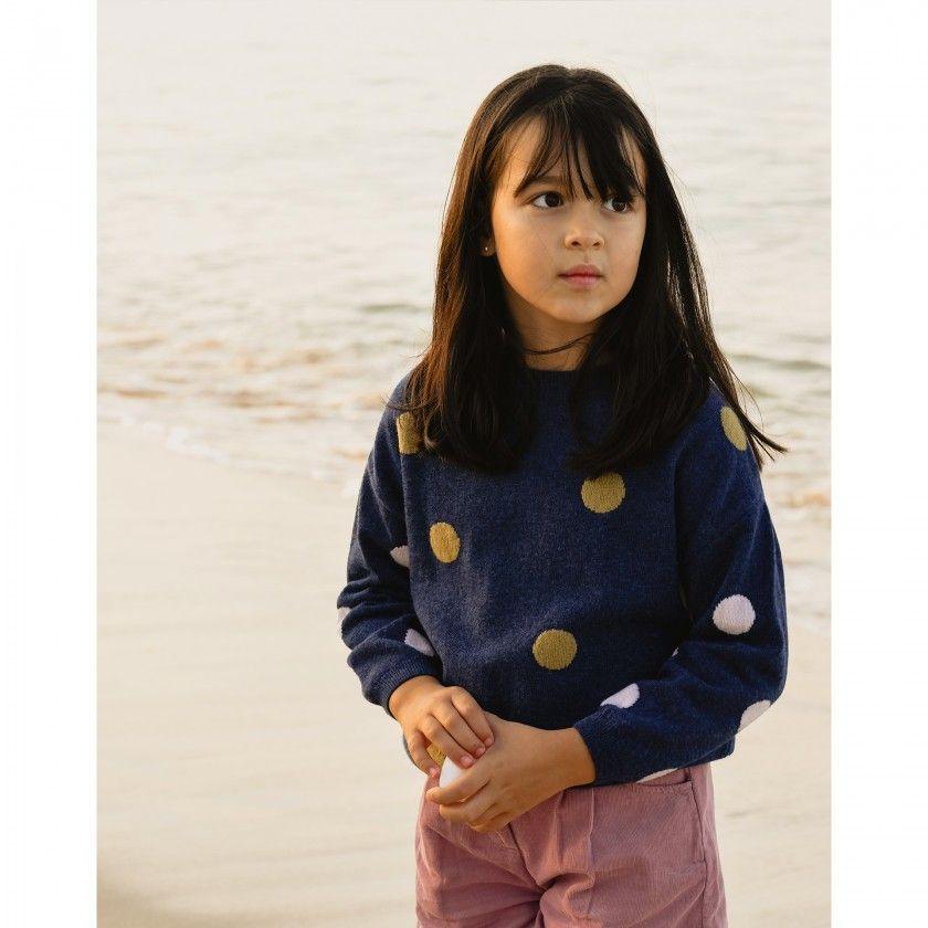 Sweater girl Polka Dots